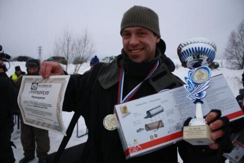 2 этап Чемпионата Русфишинга 29.01.2011